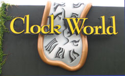Clock World for Designer floor and traditional grandfathers