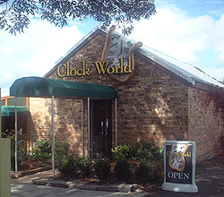 Clockworld shop and cafe